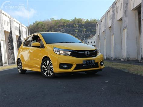 test drive  review   honda brio rs