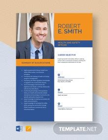 Safety Officer Cover Letter Template [Free PDF] - Word ...