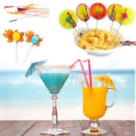 canape bar 50pc cocktail sticks juice drink canape picks