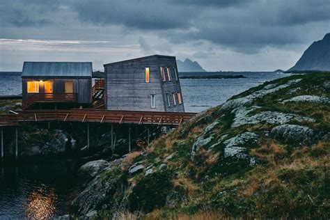 holmen lofoten kitchen   edge   world joshua