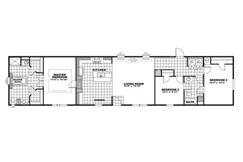 Clayton Homes Commander Floor Plans by Clayton Home Floor Plan Manufactured Homes Modular