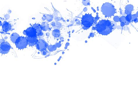 Blau Streichen by Blue Paint Splats Free Stock Photo Domain Pictures