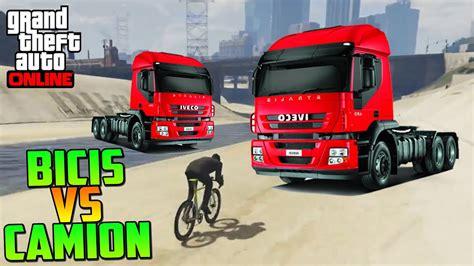 Juegos de gta 5 online. BICIS VS CAMIONES!! ¡¡ME LA JUEGO!! - Gameplay GTA V Online PS4 - YouTube