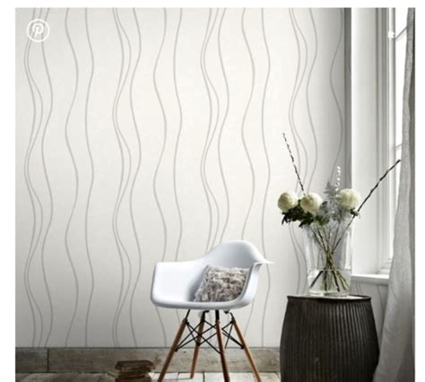 white walls  wallpaper accent wall