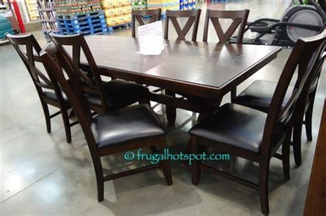 costco sale bayside furnishings 9 pc dining set 699 99