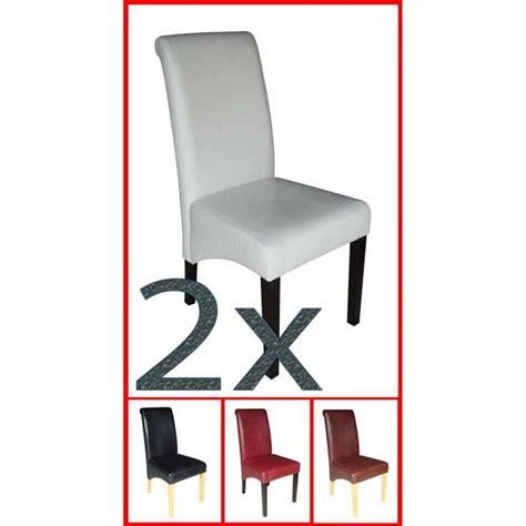 6 chaises pas cher 17 201 l 233 gant lot 6 chaises pas cher hzt6 meuble de cuisine