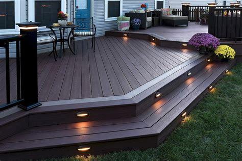 deck backyard 50 elegant front yard deck design ideas homearchite com