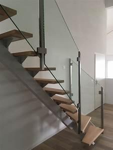 Stahltreppe Mit Holzstufen : treppe f r efh spirig metalltechnik ~ Michelbontemps.com Haus und Dekorationen