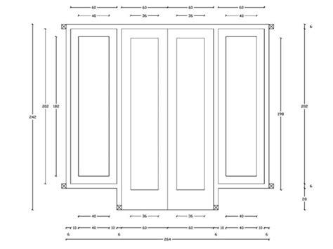 ukuran pintu  jendela rumah minimalis kusen daun