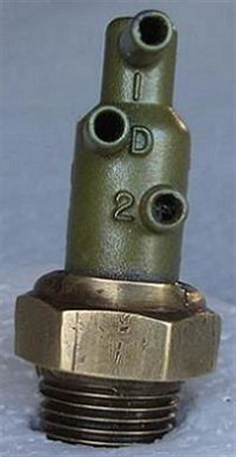 distributor vacuum control valve mustang  cobra jet