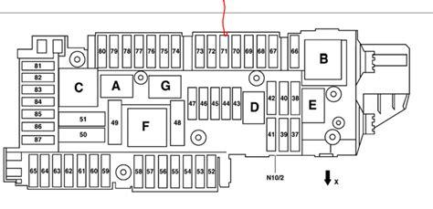 2008 Mercede C300 Fuse Box Diagram by Mercedes C250 Fuse Box Wiring Diagram