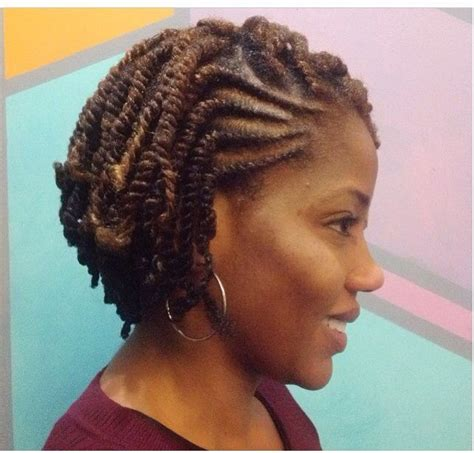 Black Flat Twist Hairstyles by She Used Flat Twists To Create Fabulous Summer Curls On