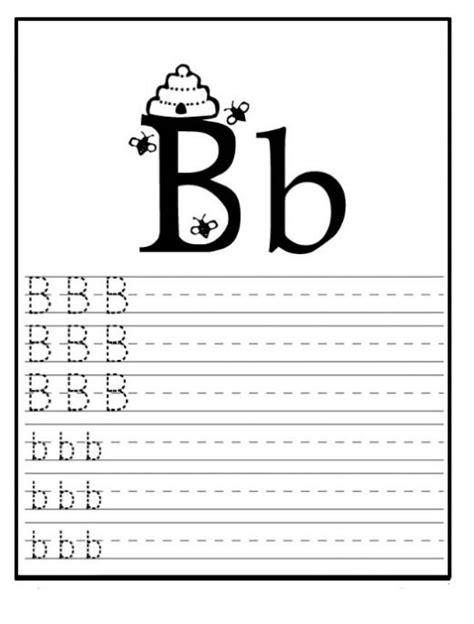 Free Printable Letter B Worksheets For Kindergarten & Preschool