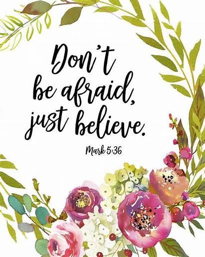 Bible Verse Floral Printable Scripture Wall Verses