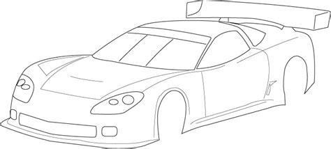 Blank Race Car Templates Race Car Blank Pencil And In Color Race Car