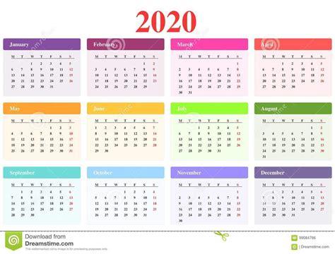 calendario illustrazione vettoriale illustrazione differente