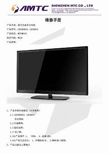 Tcl H Chassis Lcd3026s Lcd Power Diagram Sch Service