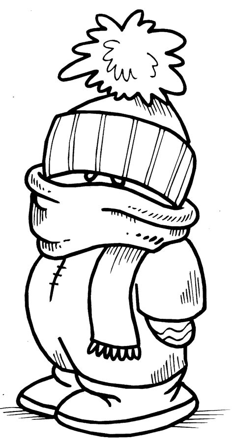 winter coloring page printable interactive winter coloring pages winter