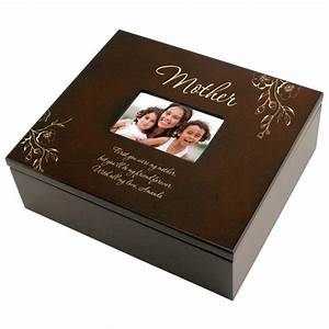 How To Thank A Boss For A Gift Mother Personalized Photo Keepsake Box Personalized