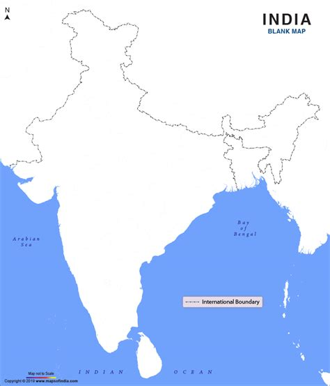 blank map  india   india blank map