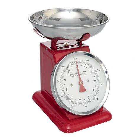 balance cuisine vintage retro style enamel kitchen scales by ella notonthehighstreet com