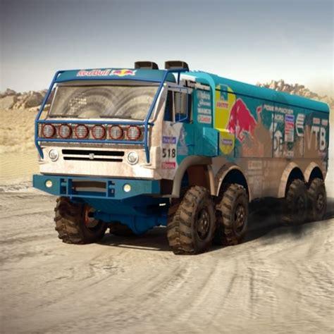 kamaz rally  model