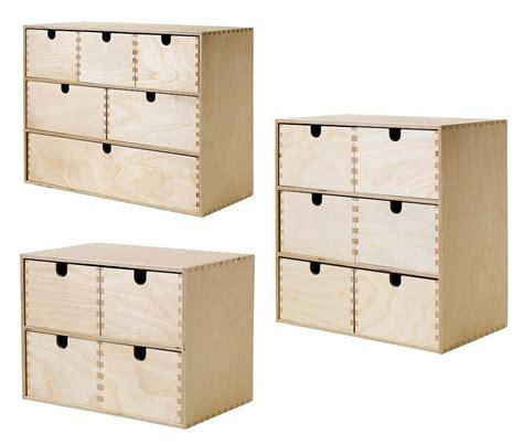 Mit Schubladen Ikea by Ikea Moppe Mini Kommode Holz Schubladen Minikommode