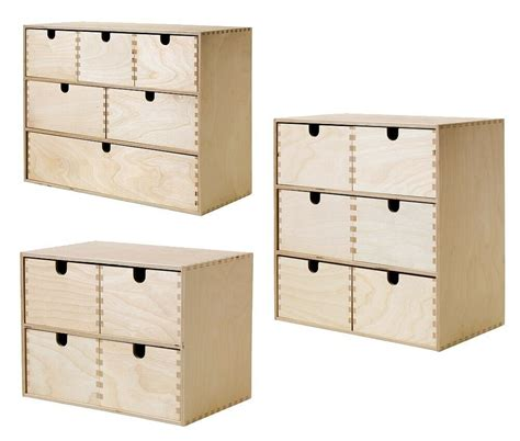 Stehle Holz Ikea by Ikea Moppe Mini Kommode Holz Schubladen Minikommode