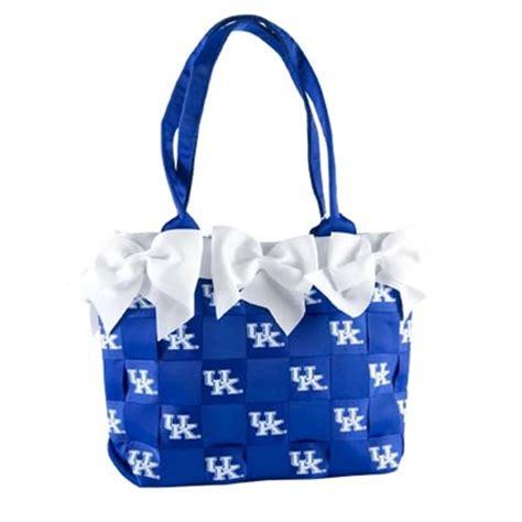 university  kentucky bow purse