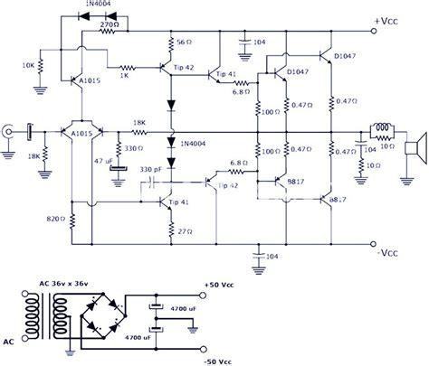 Crunch Sub Wiring Diagram by 200 W Power Lifier Schematic Diagram Circuit Diagram