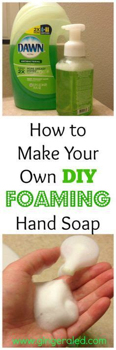 how to make your own soap 17 best images about clean home on pinterest window screens cleaning tips and foaming hand soaps