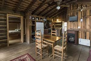 1920s Log Cabin Vacation Rental In Campground In The Nc