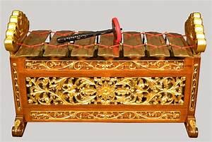 Slenthem from Javanese Gamelan at the National Music Museum