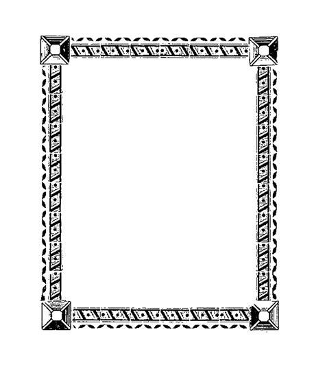 digital stamp design printable square borders frames