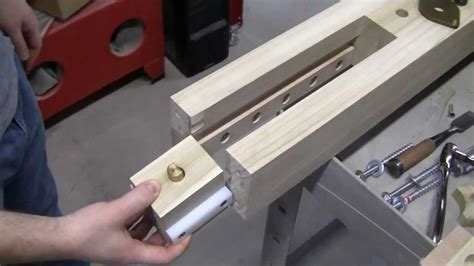 wagon vise install details lake erie toolworks youtube