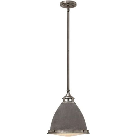 zinc hanging ceiling pendant light for vaulted and angled