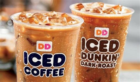 The four flavors available are original, mocha, french vanilla, and espresso. Dunkin' Donuts Iced Coffee Day: Help the Food Bank of ...