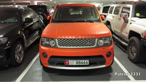 matte orange range rover matte orange range rover supercharged youtube