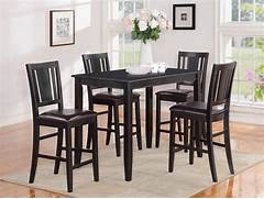 Dinette4less Store For Many More Dining Dinette Kitchen Table Chairs Bar Height Table And Chairs Ideas For Outdoor Bar Height Table And Chairs Above Is Part Of Popular Black Bar Height Jofran Counter Height Table In White Cherry Get With 4 Chairs