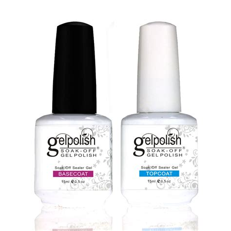 best gel nail l msk nail gel top coat top it off base coat