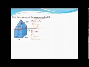 Calculating The Volume Of Composite Solids