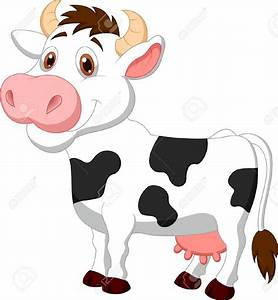 Cute cow cartoon Stock Vector | ALL COWS Mooo | Pinterest ...