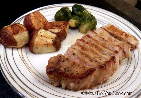 how do you cook pork chops how do you cook com whiskey cider pork chops