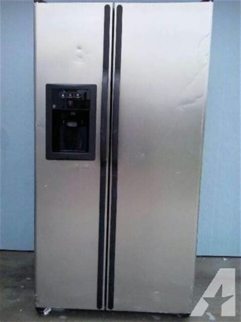 ge side by side refrigerator number gsl25jfpabs for sale in corpus christi