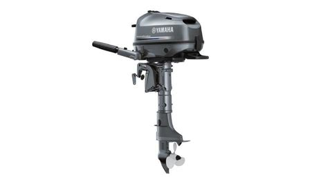 New Yamaha F 4 Bmhl Blue Hp Four Stroke Outboard Motor