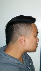 Taper fade faux hawk. By Koke - Yelp