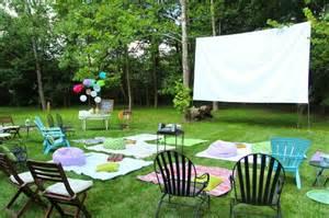 Der Garten Kino by Open Air Kino Im Eigenen Garten 20 Ideen F 252 R Eine Gute