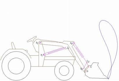 Loader Tractor Anim Wheel Quick Case Equipment