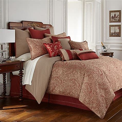 waterford linens cavanaugh reversible comforter set bed