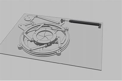 Iris Mecanique Mechanical Door Reverse
